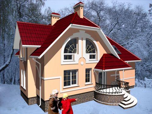 Готові проекти будинків 224 проект 1052