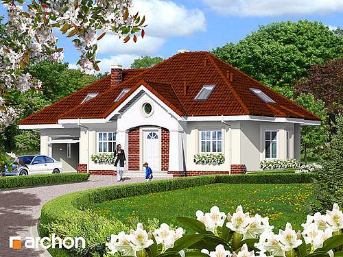 Готові проекти будинків 185 проект 1550