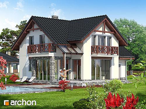 Готові проекти будинків 162 проект 1691