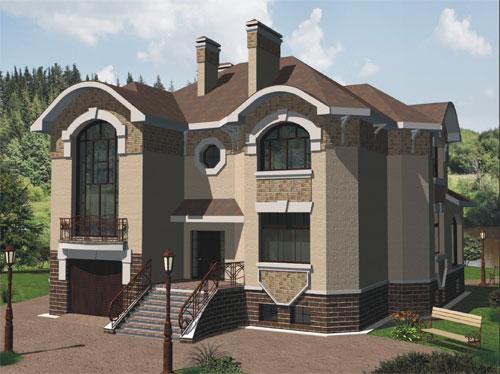 Готові проекти будинків 465 проект 1014